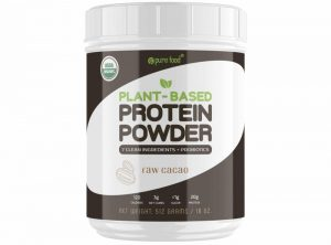 Pure food_Plant based protein powder