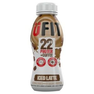 UFIT High Protein Shake Drink Iced Latte