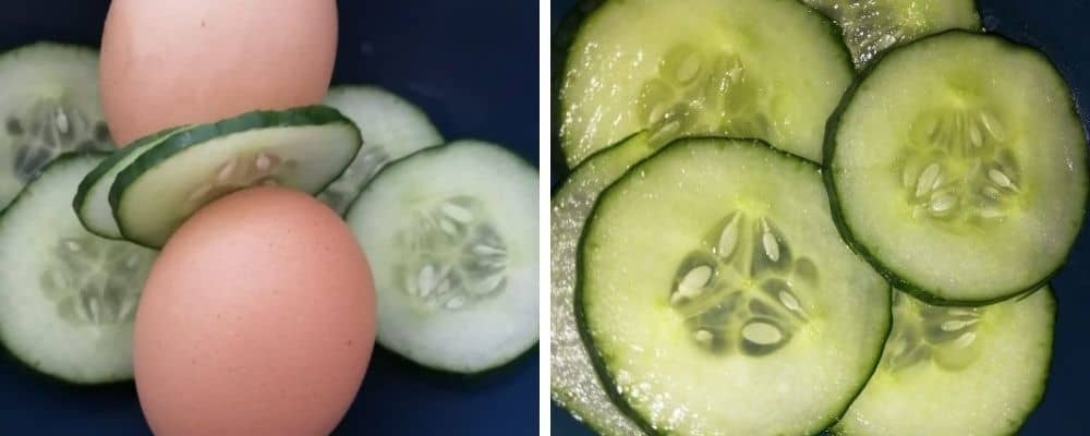 Egg and cucumber diet for weight loss