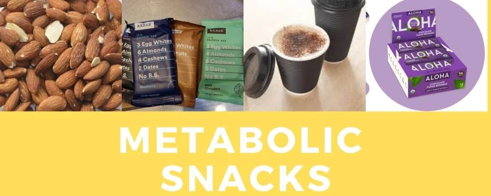 Metabolic meals snacks