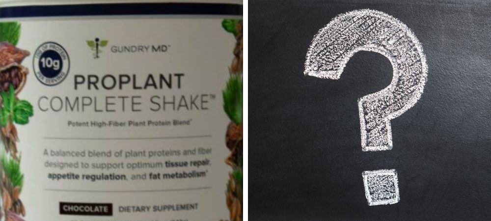 Pro_plant complete shake alternatives