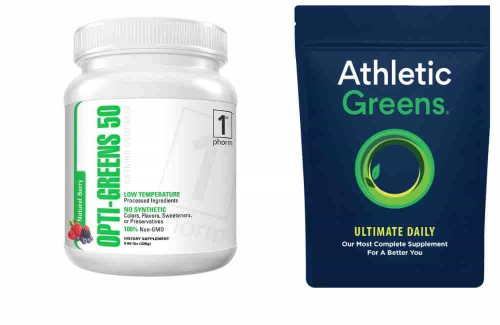 Opt Greens by First Phorm vs Athletic Greens